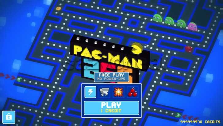PAC-MAN 256 Cheats