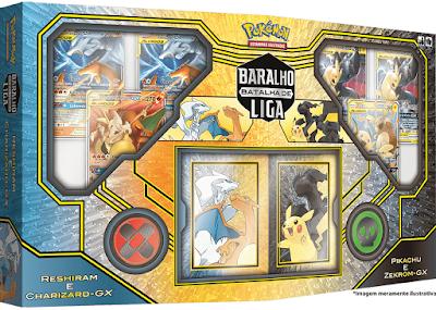 Pokémon TCG Baralho Batalha de Liga