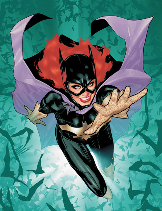 Batgirl #1, cover art by Adam Hughes