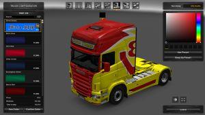 Scania RJL Driver Dream Skin