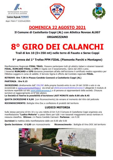 Castellania 22 agosto
