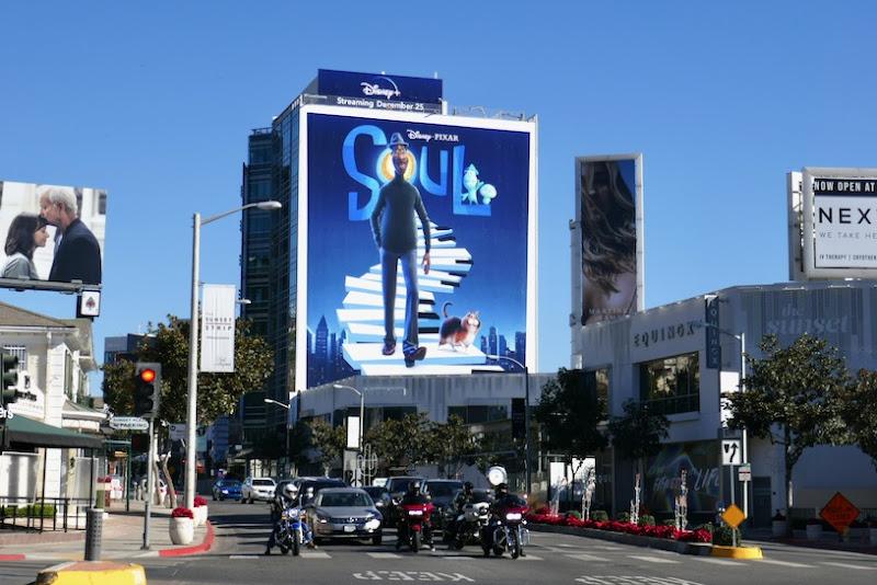 Giant Soul movie billboard Sunset Strip