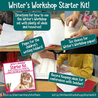 https://www.teacherspayteachers.com/Product/Writers-Workshop-Starter-Collection-180055?utm_source=Elementary%20Matters%20Blog&utm_campaign=Writer%27s%20workshop%20Packet