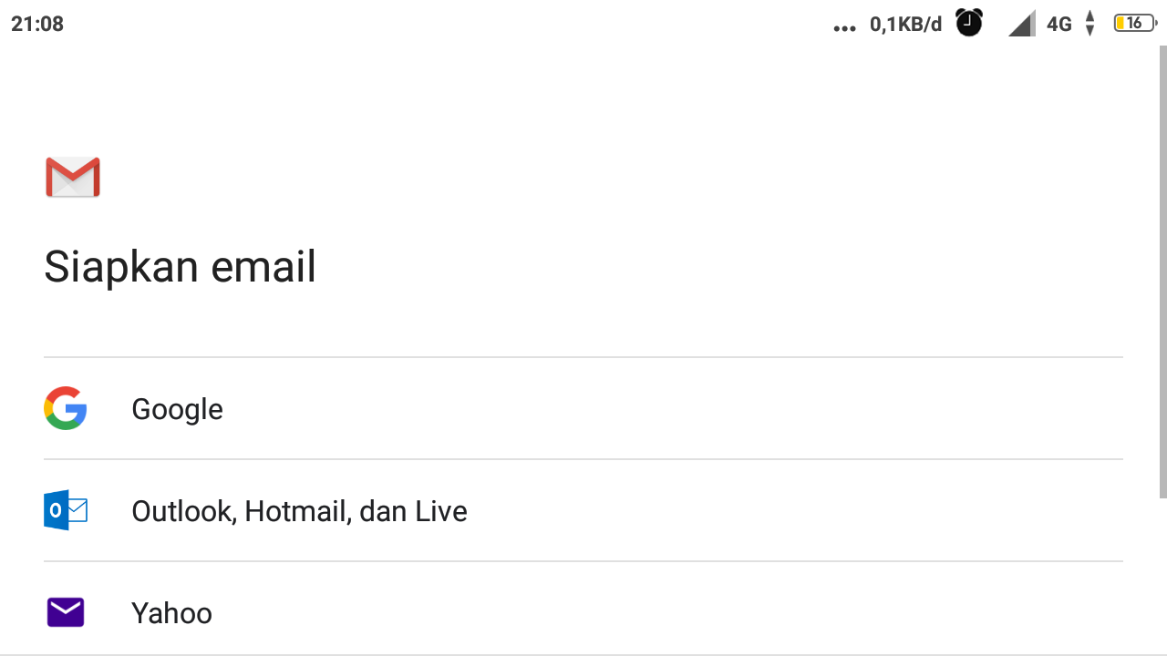 Cara Membuat Gmail Di Handphone