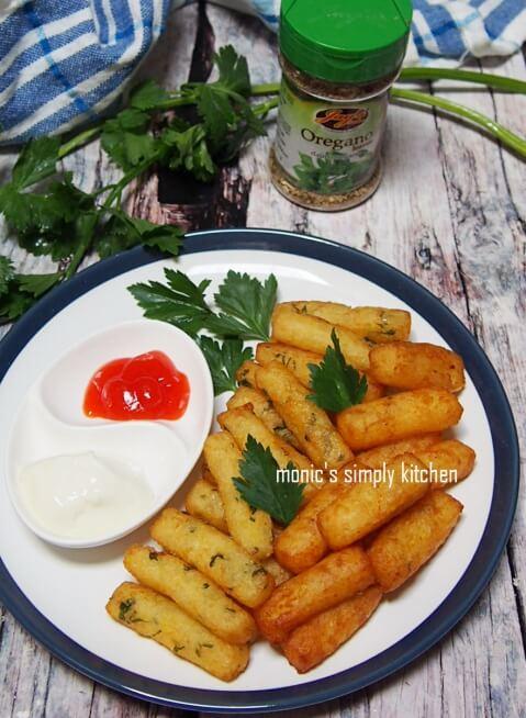 resep stik kentang keju