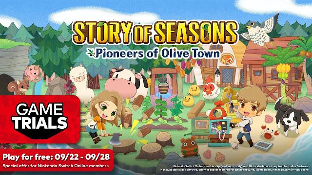 STORY OF SEASONS: Pioneers of Olive Town é o próximo game dos Testes de Jogos