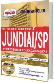 Apostila Concurso Prefeitura de Jundiaí SP 2017 - Professor