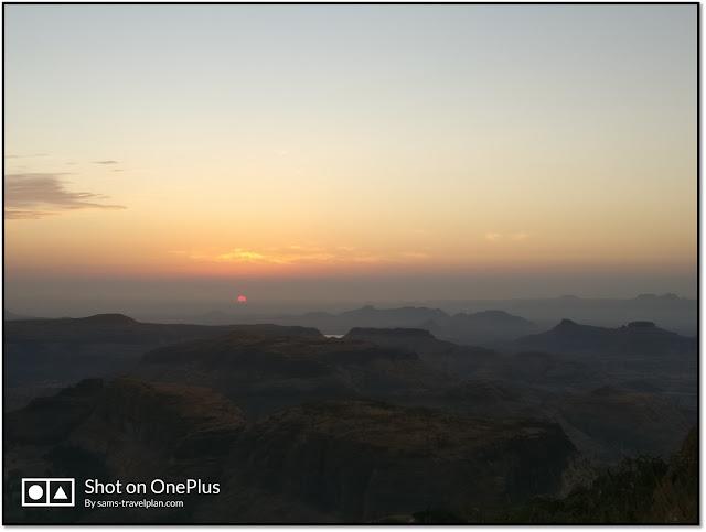 Anjaneri hill, sunrise