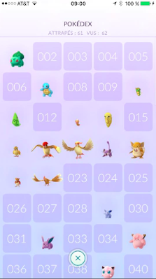 application Pokemon Go