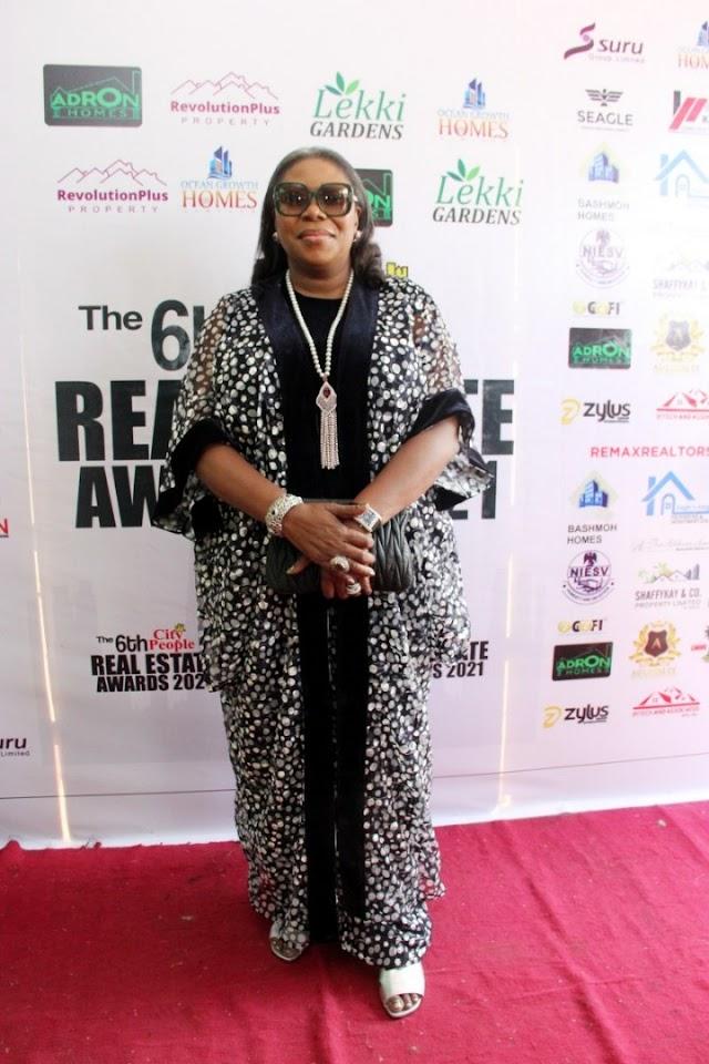 Style Statements of Mrs.Toke Benson-Awoyinka,S.A. To Lagos Governor On Housing