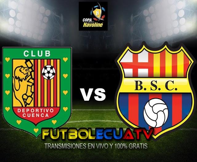 Deportivo Cuenca se mide ante Barcelona SC en vivo desde las 12:00 horario programado por la FEF  a efectuarse en el estadio Alejandro Serrano Aguilar por la fecha cuatro del campeonato ecuatoriano, siendo el árbitro principal José Luis Espinel con emisión del canal autorizado GolTV.