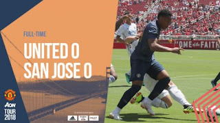 San Jose Earthquakes vs Manchester United 0-0 Highlights