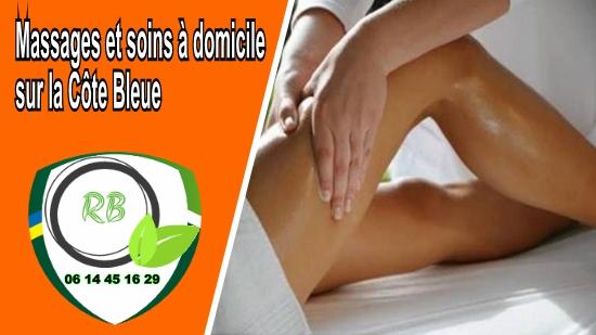 Massages et soins à domicile sur la Côte Bleue;