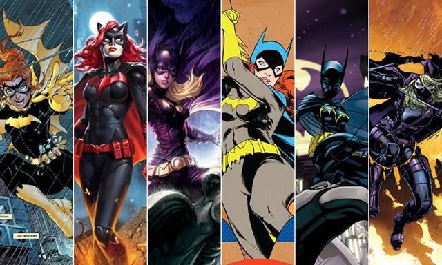 Batwoman y Batgirl han tenido diferentes versiones