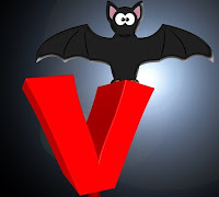 Image: V is for Vampire Bat, by Gerd Altmann on Pixabay