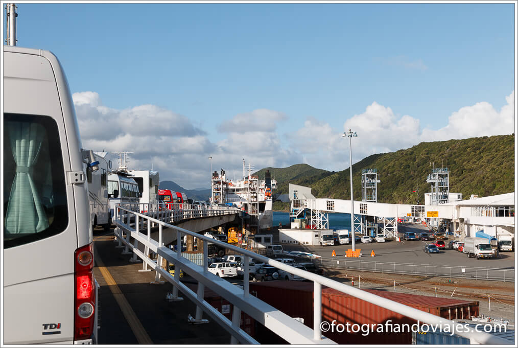 Ferry de Picton a Wellington