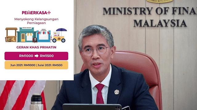 GKP 3.0 : Semakan Status & Bayaran RM1,000 (Fasa 1) Mulai 8 Jun 2021