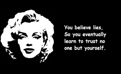 """Marilyn Monroe Quotes About Lies"""