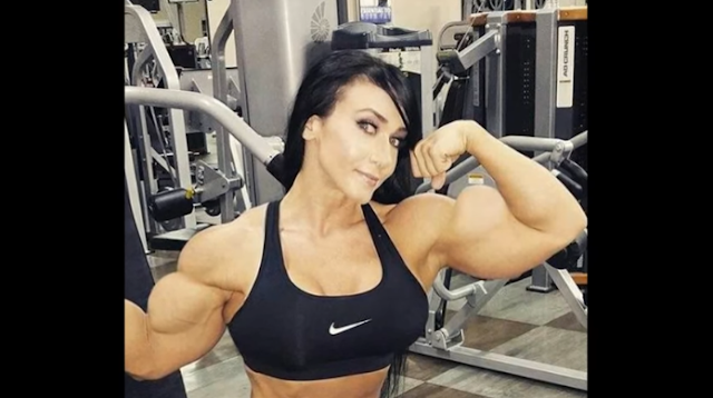 Video Female bodybuilding have serious muscles