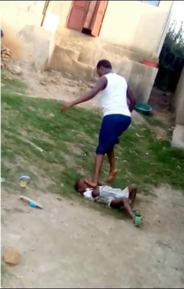 Woman sentenced to 2 years imprisonment after she was filmed beating her 5-year-old son and stepping on his head(Photos)