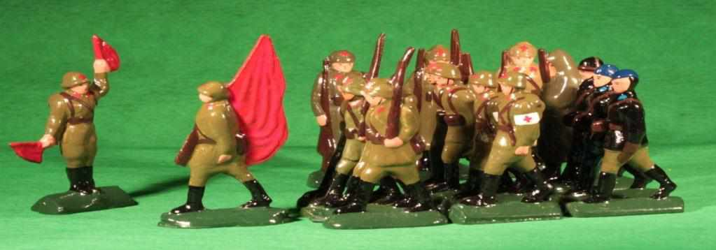 Toy soldiers and real battles: Catalog of Soviet toy