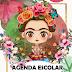 """Agenda Ciclo Escolar 2019-2020. """"Frida"""""""