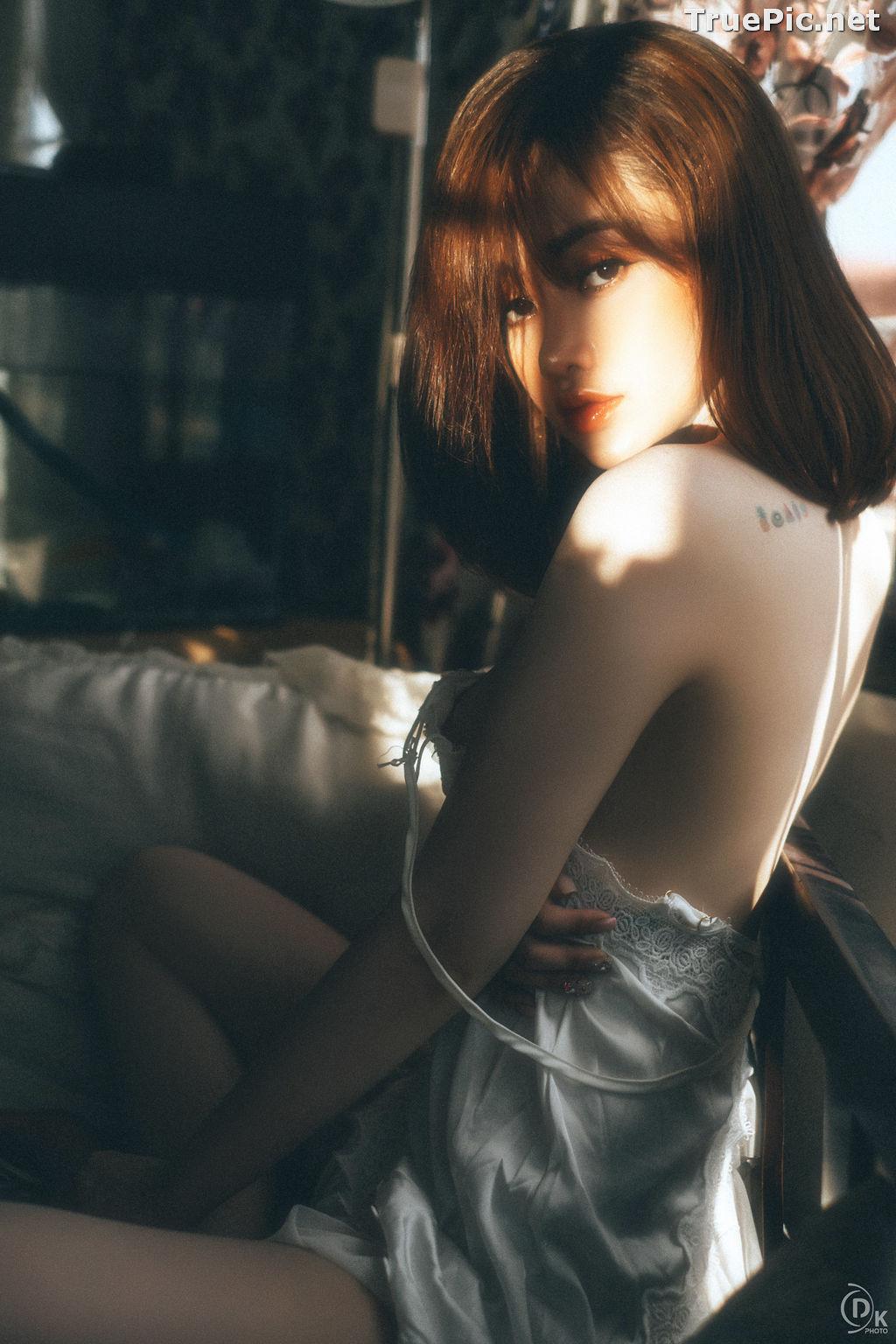 Image Vietnamese Hot Model - Sleepwear and Lingerie Under Dawnlight - TruePic.net - Picture-9