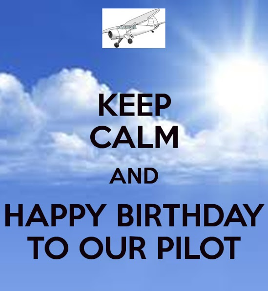 Birthday Wishes for Pilots