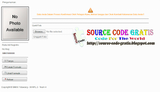 Free Download PHP Source Code Aplikasi Penerimaan Peserta Didik
