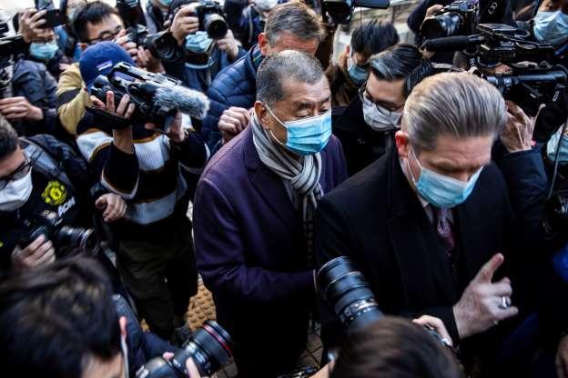 Hong Kong media mogul Jimmy Lai ordered back to jail