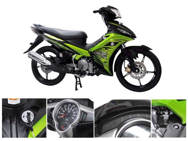 Spesifikasi Yamaha Jupiter Z
