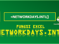 Fungsi Excel NETWORKDAYS.INTL