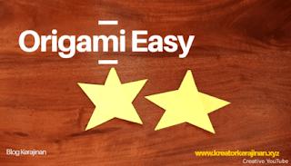 Origami Sederhana untuk Anak Paud