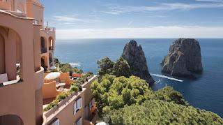 Italy Honeymoon Hotels punta tragara