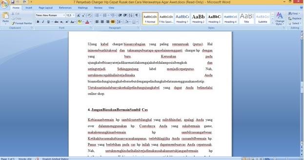 Cara Mengatasi Spasi yang Berantakan di Microsoft Word ...