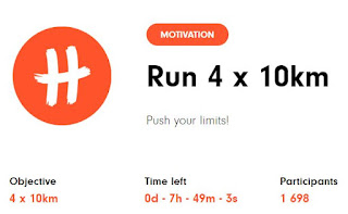 4x10k Challenge Completed Badge