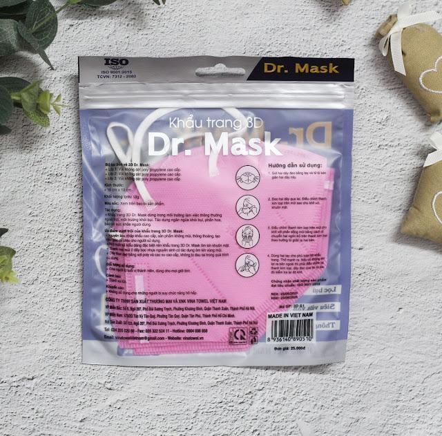 Gói 5 Chiếc Khẩu Trang 3DS1 - Dr.Mask - 100 gói/thùng