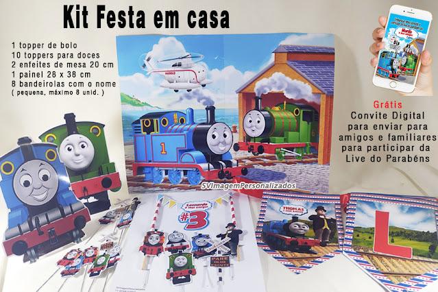 Thomas e seus Amigos Dica para festa  personalizados Baratos