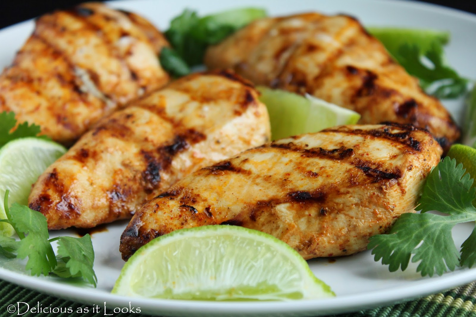 Grilled Mexican Lime Chicken (low-FODMAP)  /  Delicious as it Looks