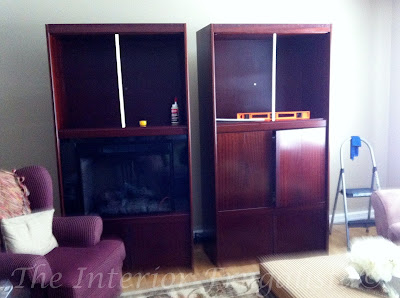 Dismantling the wall unit