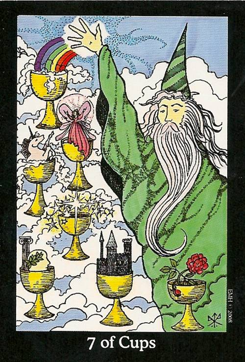 Tarot Notes: Seven of Cups - Astrological Associations (by Zanna)