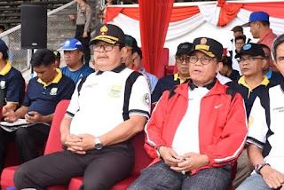 Pembukaan Gubernur Cup Tahun 2020 Dihadiri Oleh Wakapolda Jambi Bersama Kapolresta Jambi