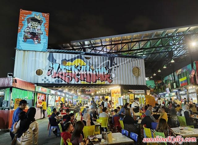 NOUR'S Chickin Soft Launch, Lepaking Jalan Gombak, Nour's Chickin, Food Challenge, Blindfold Eating Challenge, Crispy Chicken Skin Snack, Food, Snack