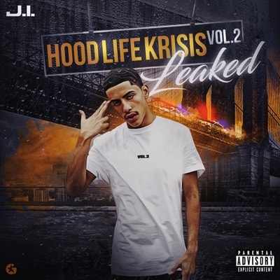 J.i The Prince Of N.y - Hood Life Krisis Vol. 2 (2019) - Album Download, Itunes Cover, Official Cover, Album CD Cover Art, Tracklist, 320KBPS, Zip album