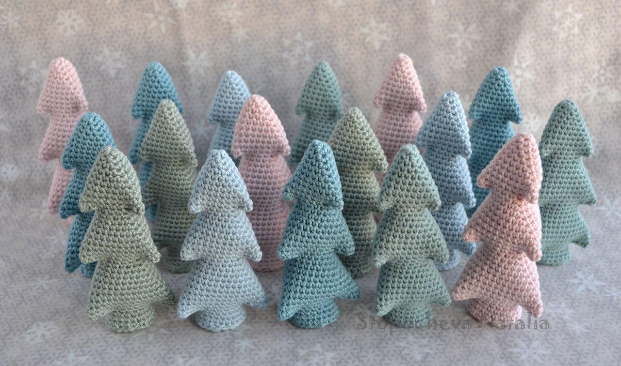 схема вязания елочка