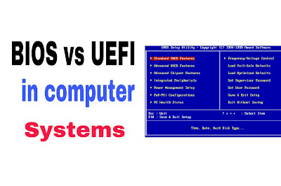 BIOS and UEFI in computer system example