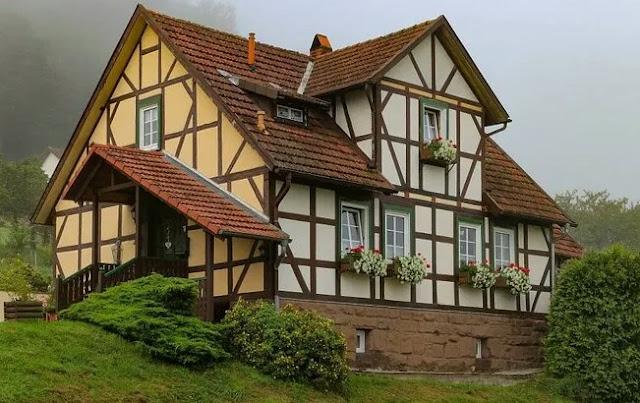 Fachwerk Style house