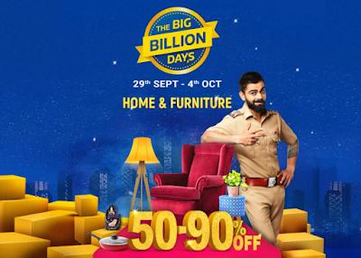 Flipkart Big Billion Day Sale 2019,Flipkart Biggest Sale Is Back