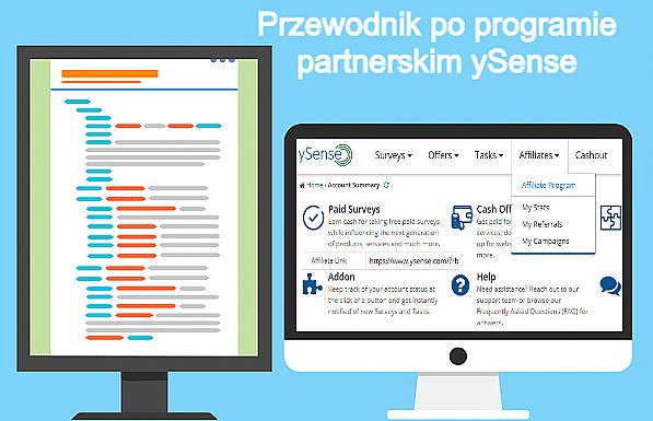 Program partnerski ySense (Affiliate) — poznaj jego korzyści.