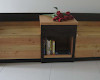 2 Seater Bench With Small Table